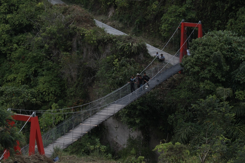 Jembatan Gantung Janjang Saribu